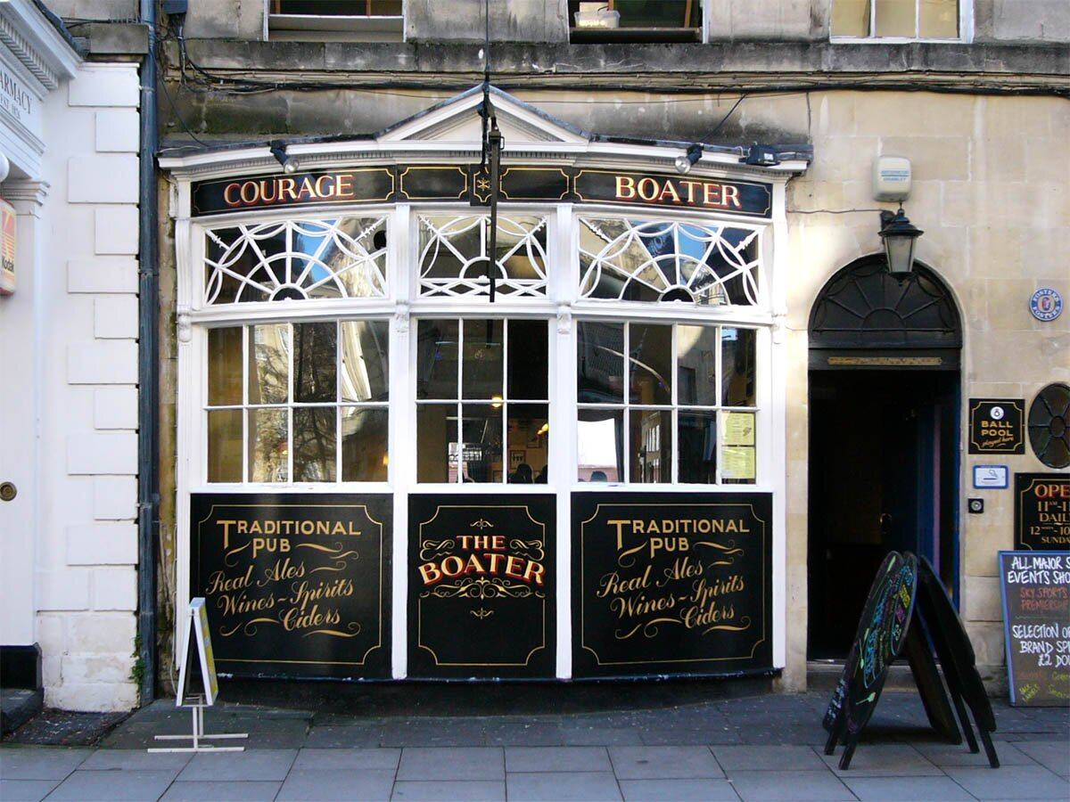 Boater Bath Pubs And Bars