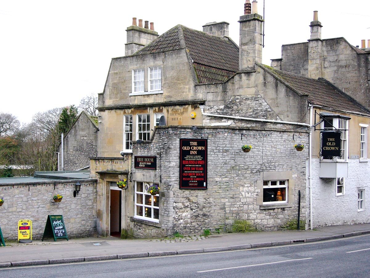 Old crown weston bath pubs and bars