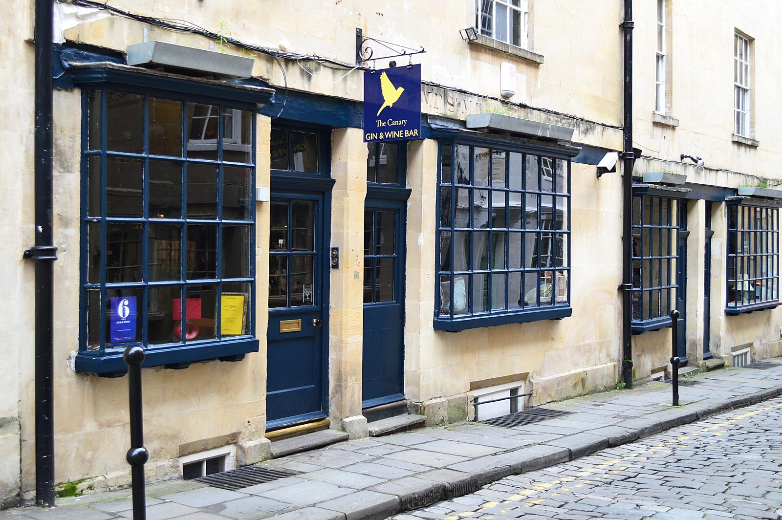 Canary Gin And Wine Bar Bath Pubs And Bars