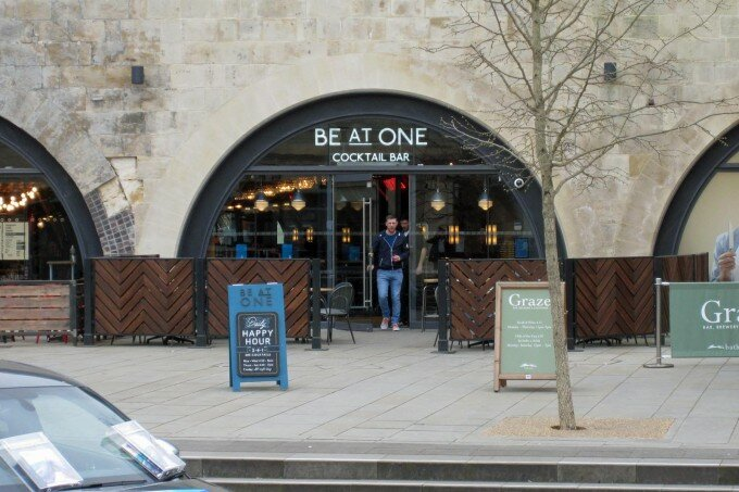 Be At One Cocktail Bar - Bath